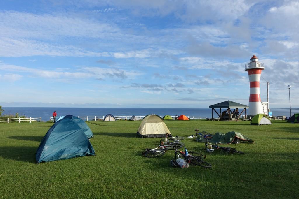 Hopelessly beautiful campsite
