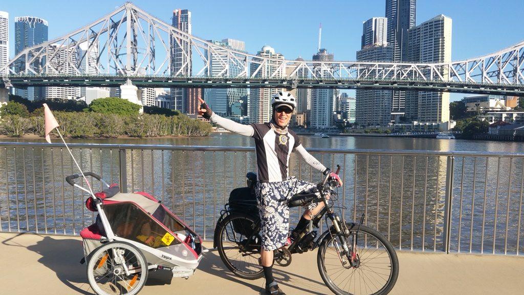 Cycling Brizzie