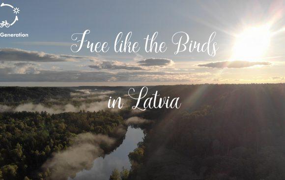 Free like the birds in Latvia