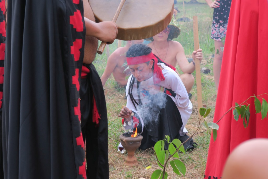 Envision - Shamanic Tree Planting - fire ceremony
