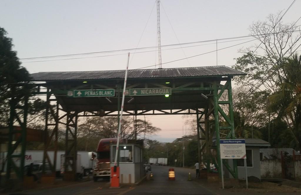 Nicaragua - Peñas Blancas border