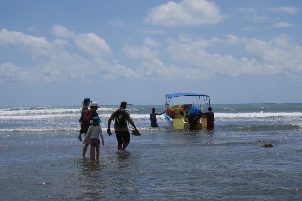 Corcovado boat transfer